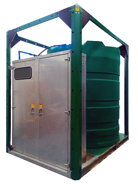 Water From Air Storage Tank